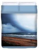 Alone In St. Augustine Duvet Cover