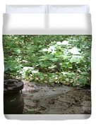 Alone In The Woods Duvet Cover