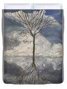 Alone Tree Duvet Cover