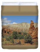 Along Panorama Trail Duvet Cover