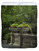 Along The Garden Path Duvet Cover