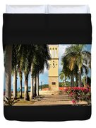 Along The Hands Of Time Duvet Cover