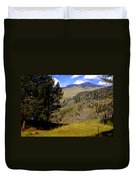 Along The Hell Roaring Creek Trail Duvet Cover