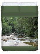 Along The Hiking Trail Duvet Cover