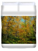 Along The Lock And Dam Trail Duvet Cover