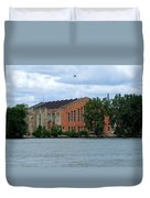 Along The Maumee Duvet Cover