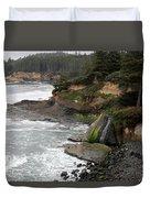 Along The Oregon Coast - 7 Duvet Cover