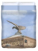 Along The River Zaan Zeepziederij De Adelaar Duvet Cover