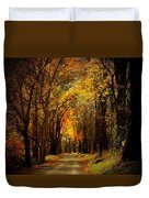 Along The Riverbank Duvet Cover
