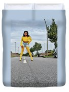 Along The Road Duvet Cover