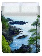 Along The West Coast 1 Duvet Cover