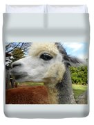 Alpaca Blue Duvet Cover