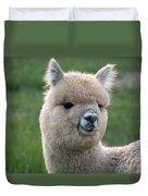 Alpaca Smile Duvet Cover