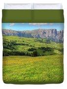 Alpe Di Siusi - Dolomiti Duvet Cover