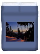 Alpenglow Claws Duvet Cover