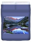 Alpenglow Duvet Cover