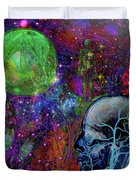 Alpha And Omega Electromagnetic Duvet Cover