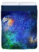 Alpha Centauri Abstract Moods Duvet Cover
