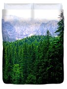 Alpine Forest Duvet Cover