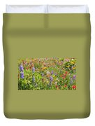 Alpine Glory In Canada Duvet Cover