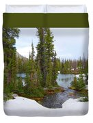 Alpine Lake Area Duvet Cover