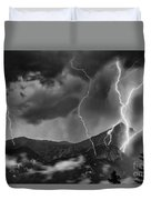 Alpine Lightning Duvet Cover