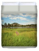 Alpine Meadow Duvet Cover