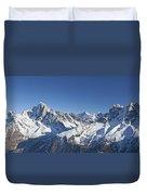 Alpine Panorama Duvet Cover