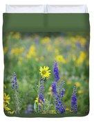 Alpine Sunflower Duvet Cover