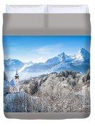 Alpine Winterdreams Duvet Cover