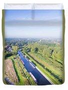 Alrewas Canal Duvet Cover
