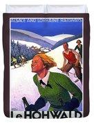 Alsace, Lorraine Railways, France Duvet Cover