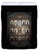 Altar Screen Cathedral Basilica Of St Francis Of Assisi Santa Fe Nm Duvet Cover