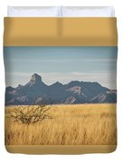 Altar Valley  Duvet Cover