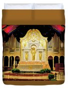 Alter - Cathedral Of St. Augustine Duvet Cover