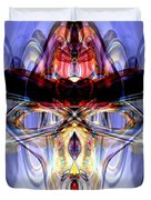 Altered States Abstract Duvet Cover