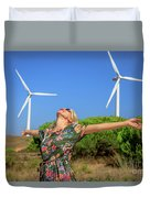 Alternative Energy Concept Duvet Cover