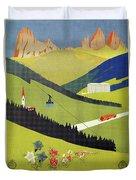 Alto Adige South Tyrol Duvet Cover