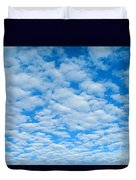 Alto-cumulus Duvet Cover