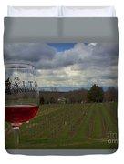 Alto Vineyards Duvet Cover
