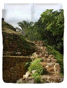 Altun Ha Maya Ruins Duvet Cover
