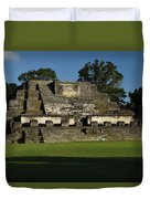 Altun Ha Mayan Temple Duvet Cover