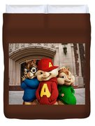 Alvin And The Chipmunks Duvet Cover