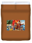 Alvin And The Chipmunks Chipwrecked Duvet Cover