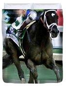 Always Dreaming, Johnny Velasquez, 143rd Kentucky Derby  Duvet Cover