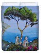 Amalfi Italy Color Duvet Cover