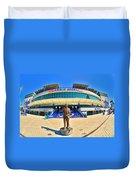 Amalie Arena Duvet Cover