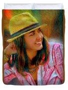 Jessica Mankin Duvet Cover