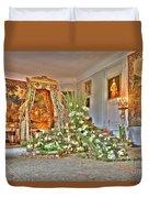 Amaryllis Exhibition In Beloeil Castle, Belgium Duvet Cover