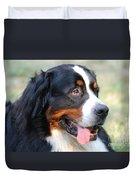 Amazing Bernese Mountain Dog Duvet Cover